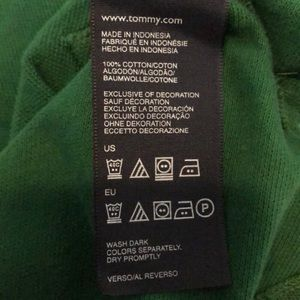 Tommy Hilfiger Shirts & Tops - 🌲 TOMMY HILFIGER GREEN POLO